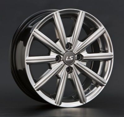 Литой диск LS wheels BY738 6 x 15 4*100 Et: 43 Dia: 73,1 HPB